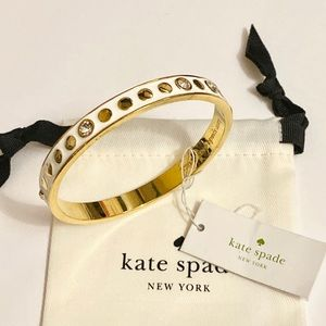 Kate Spade crystal accent bangle